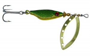 Блесна Extreme Fishing Absolute Obsession №3 12г G/Green/G 30006008
