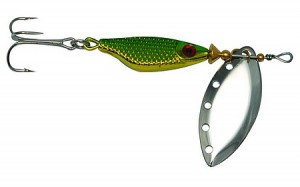 Блесна Extreme Fishing Absolute Obsession №4 15г G/Green/S 30006017