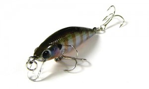 Воблер Lucky Craft Bevy Minnow 40SP Ghost Blue Gill