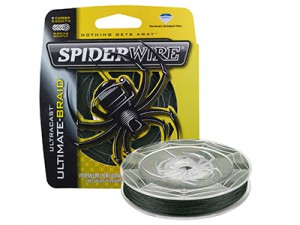 Леска плетеная SPIDERWIRE Ultracast 8 Carrier Green 0.14мм 150м 1363637