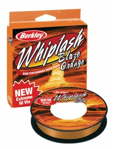 Леска плетеная BERKLEY Whiplash Blaze Orange 0.06 110м 1199490