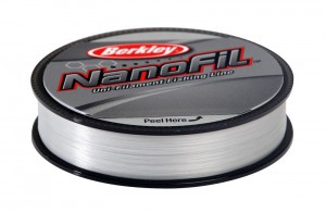 Леска плетеная BERKLEY NanoFil Clear 0.17 125м 1242394