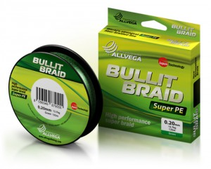 Леска плетеная ALLVEGA Bullit Braid dark green 0.26 92м