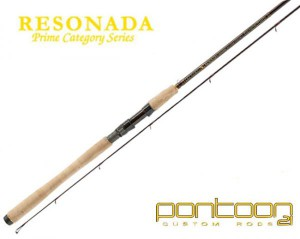 Спиннинг Pontoon21 RESONADA 274; 4.0-17.0; 5-12 Lb.;Ex.Fast;Fuji K-ALC RSS902MLXF